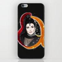 evil queen iPhone & iPod Skins featuring Regina, The Evil Queen by Clara J Aira