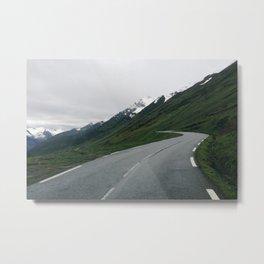 Mountain Roads Metal Print