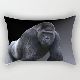 Strong Male Gorilla Rectangular Pillow