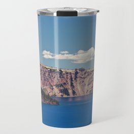 Crater Lake, Mount Mazama, Oregon, Northwest Mountain Travel Mug