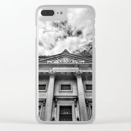 The Bowery Savings Bank Clear iPhone Case