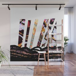 Land Lines Wall Mural