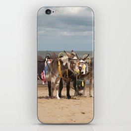 In the Donkey Ride Que iPhone Skin
