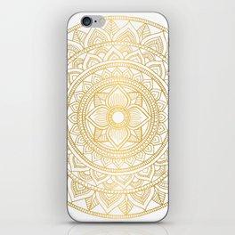 Gold Bali Mandala iPhone Skin