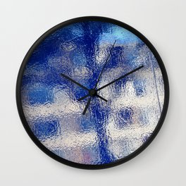 Urban Abstract 92 Wall Clock