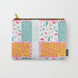 90's Pattern Funky Colors Carry-All Pouch