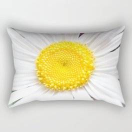 Daisy Flower Close-Up #1 #art #society6 Rectangular Pillow