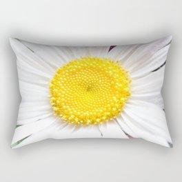 Daisy Flower Close-Up #1 #art #society6 Rectangular Pillow