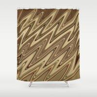golden Shower Curtains featuring Golden by DesignsByMarly