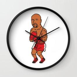 boxing kickboxing kick hero new art 2018 cartoon Wall Clock