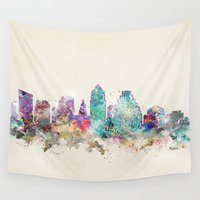 austin Wall Tapestries featuring austin texas  by bri.buckley