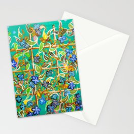 """""""Bamboo Blues"""" by ICA PAVON Stationery Cards"""