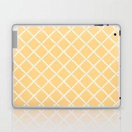 Criss Cross Yellow Laptop & iPad Skin