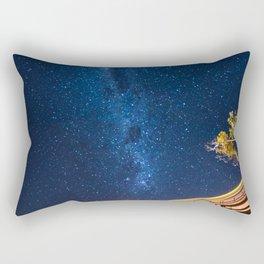 Milky Way Bridge Rectangular Pillow