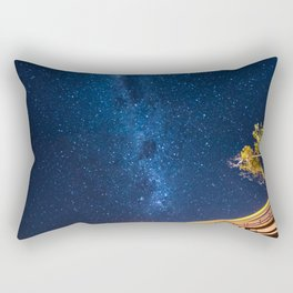 Milky Way Bridge Rectangular Pillow
