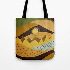 Color/Landscape 10 Tote Bag