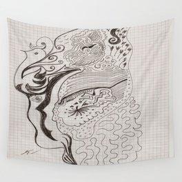 Ma fille avait aimé, elle avait  16 ans Wall Tapestry