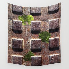 I want green Wall Tapestry