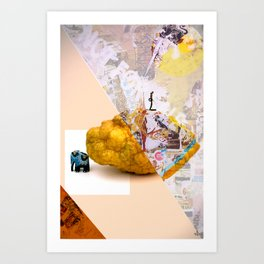 Lemon Hill Art Print
