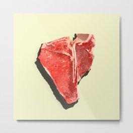 Steak-tastic Metal Print
