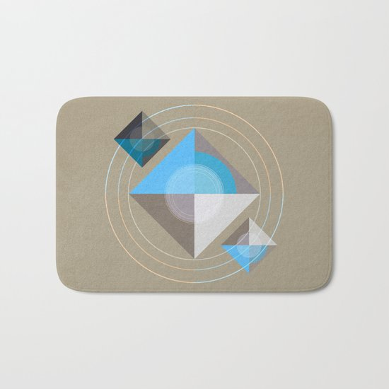 Minimalism / Geometric 4 Bath Mat