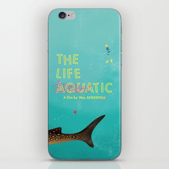 The Life Aquatic iPhone & iPod Skin