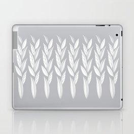 Growing Leaves: Silver Gray  Laptop & iPad Skin
