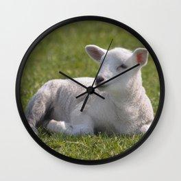 Little lamb Wall Clock