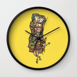Der kuss Wall Clock