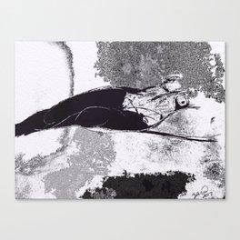 NeroNoirBEAUTY Canvas Print