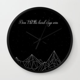 ACOTAR Don't let the hard days win Wall Clock