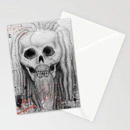 Dread Set Skull Stationery Cards