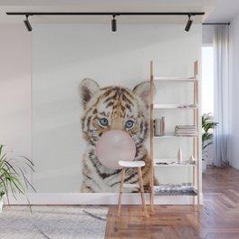 Bubble Gum Tiger Cub Wall Mural
