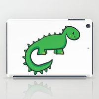 dinosaur iPad Cases featuring Dinosaur by Chloe Meister
