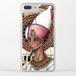 Pharaoh Clear iPhone Case