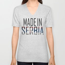 Made In Serbia Unisex V-Neck