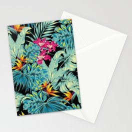 Tropical Greenery Island Dreams Stationery Cards