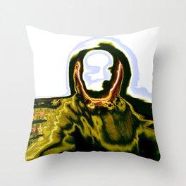 Iguana Man 01 Throw Pillow