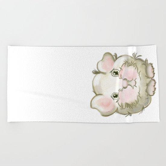 Guinea pig Beach Towel
