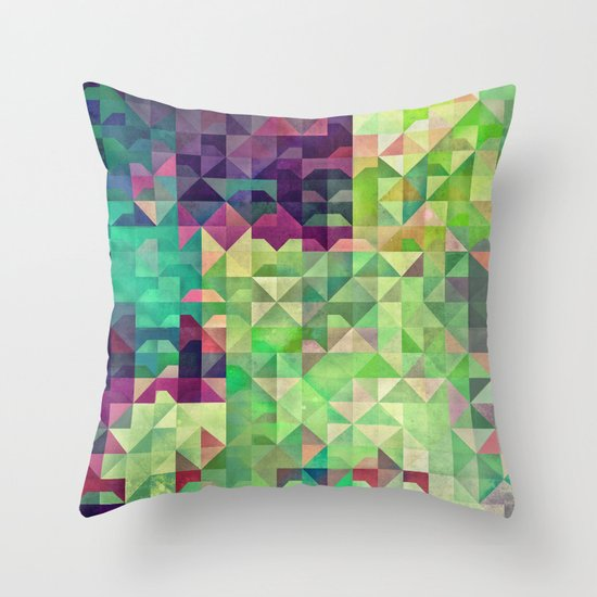 Gryyn xhrynk Throw Pillow
