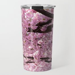 Cherry Blossom Trees Travel Mug