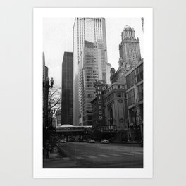 Chicago, IL Art Print