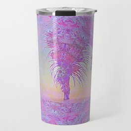 Beach Pink Travel Mug