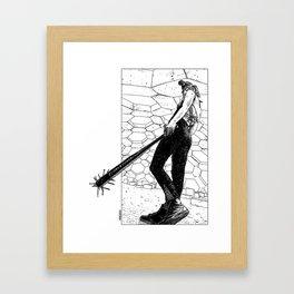 asc 342 - La fleur sauvage (Do you feel the beat now ?) Framed Art Print