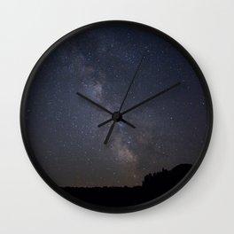 night sky in northern michigan #2 Wall Clock