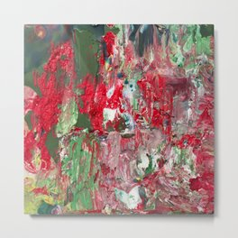 Color Commentary #17: Red & Green [Lena Levin, In Studio With Masters] Metal Print
