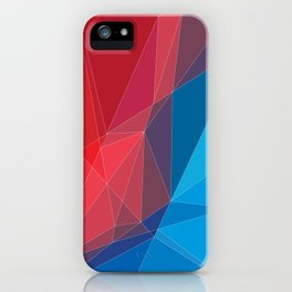 Old triangles iPhone Case