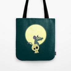 Moon Rat Tote Bag
