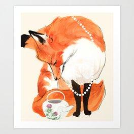 Velma's Teapot Art Print