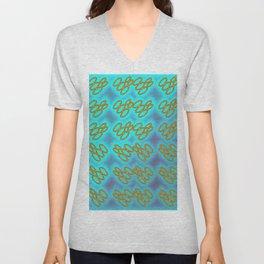 Oo - pattern 1 Unisex V-Neck